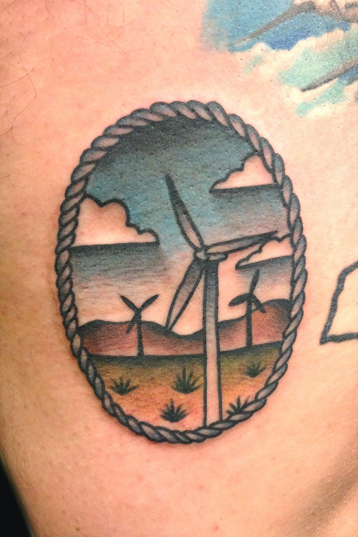 100 windmill tattoo carole nelan the tell tale for Palm springs tattoo shops
