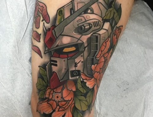 Gundam Seed Tattoo