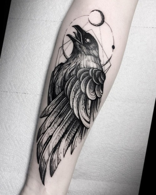 Crow tattoo 15